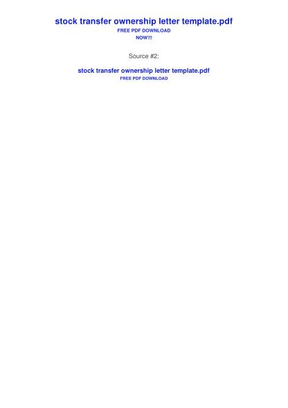 98245909-stock-transfer-ownership-letter-template-bing-pdf-links