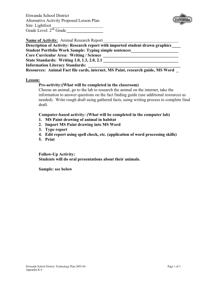 98721351-animal-research-report-etiwanda-school-district