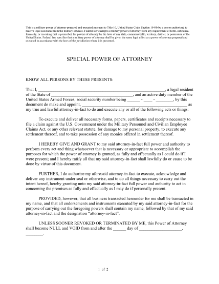 blank-military-power-of-attorney-form