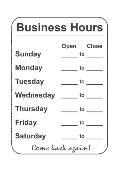 business-hours-template