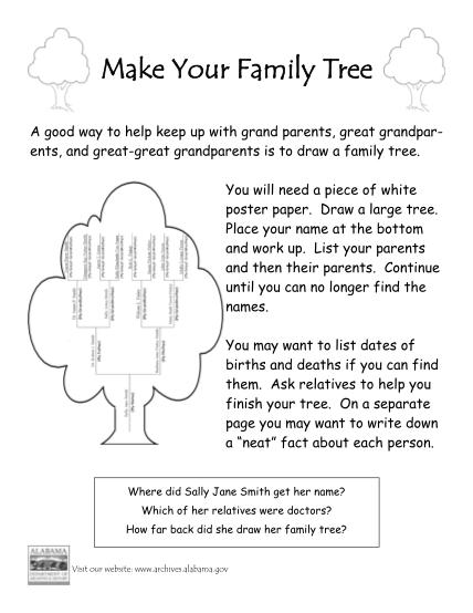 career-family-tree-worksheet
