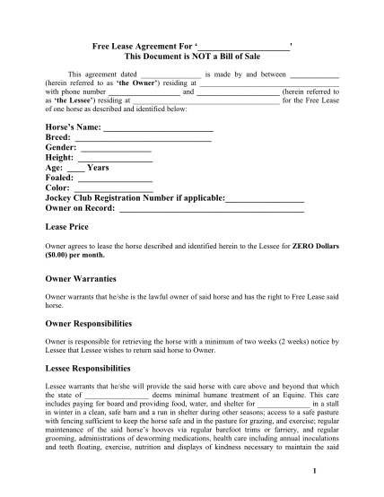horse-lease-agreement