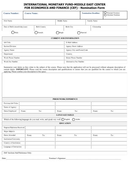 international-monetary-fund-form