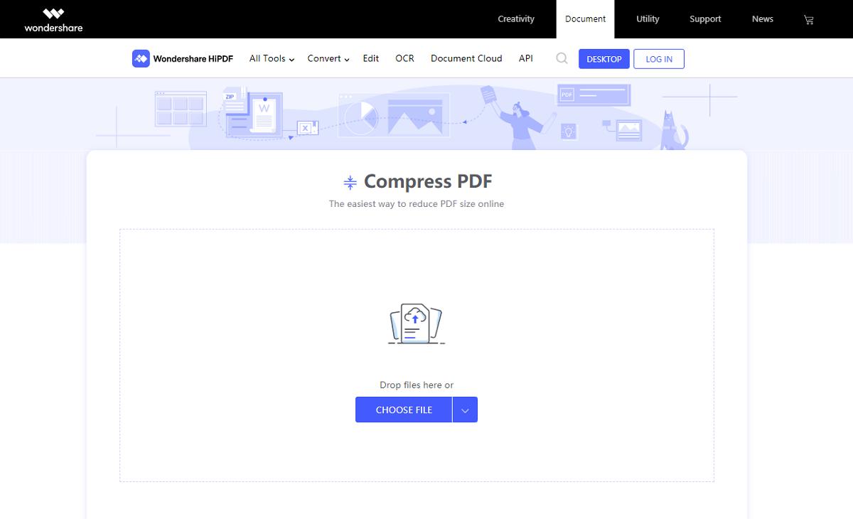 hidpdf compress pdf
