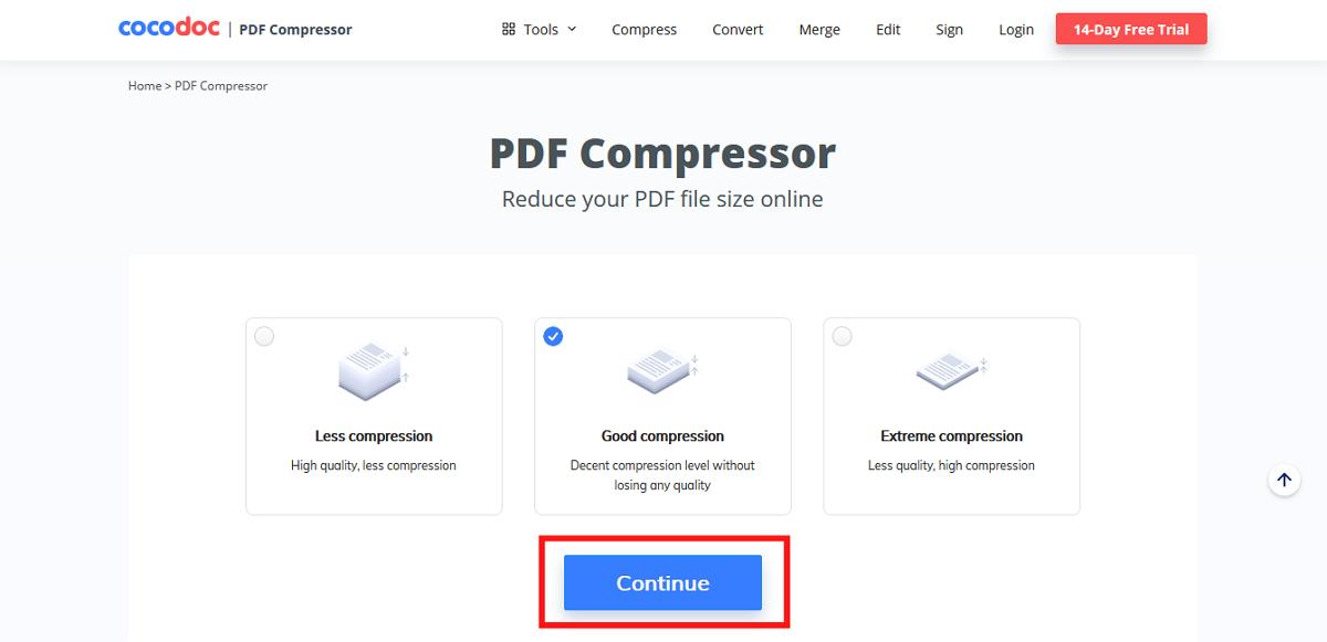 select compression